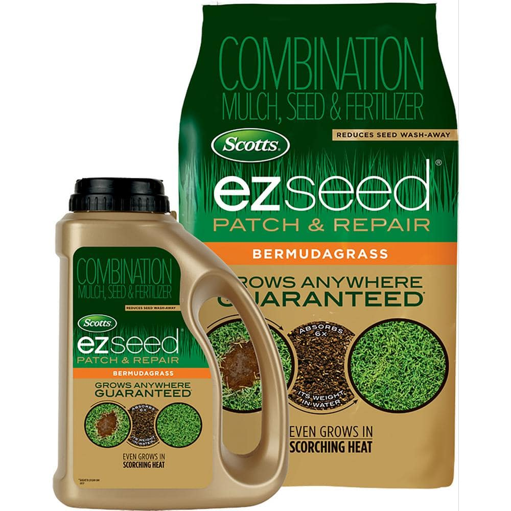 Scotts EZ Seed Patch and Repair Bermudagrass seed, 10 lb for $13.45 @ Amazon