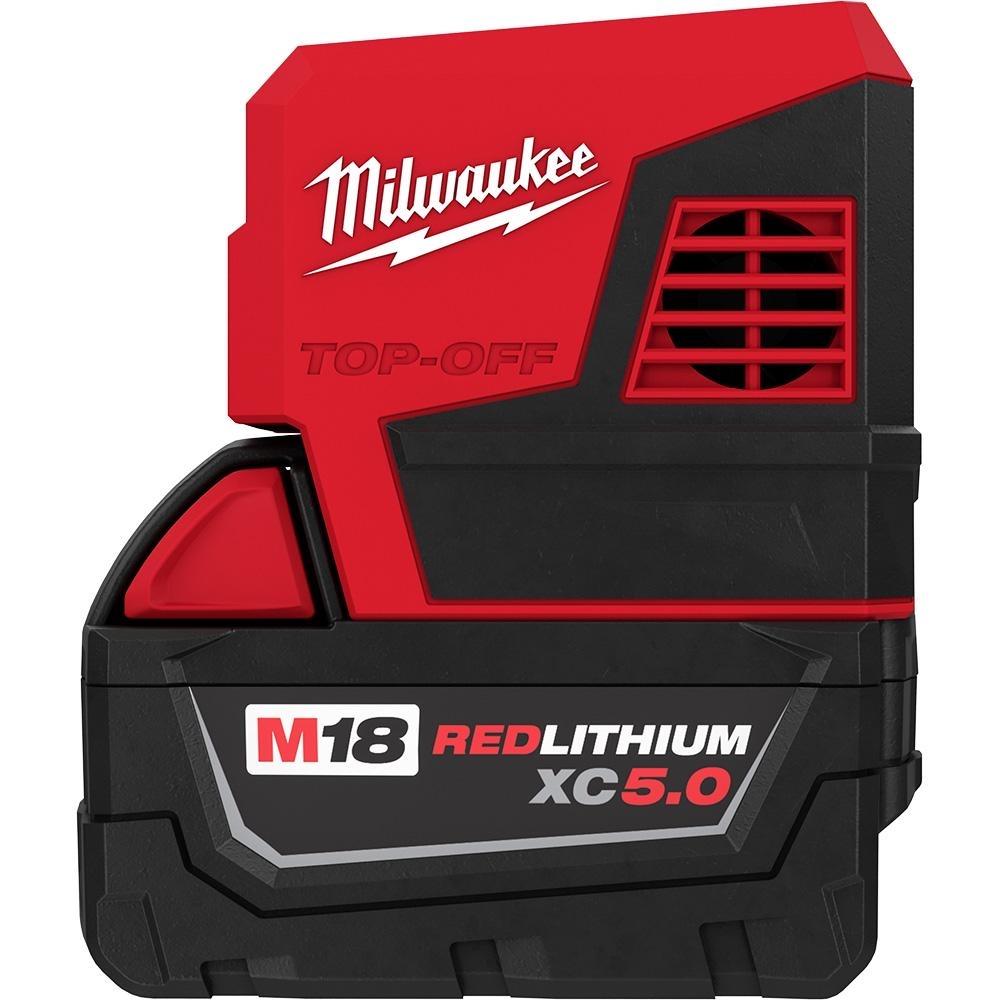 Milwaukee M18 18-Volt 175-Watt Lithium-Ion Powered Compact Inverter with 5.0 Ah Battery-2846-50 - $149