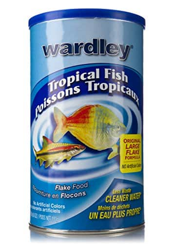 Wardley Tropical Fish Flakes 6.8 oz $3.57 or $3.39 or less with S&S at Amazon
