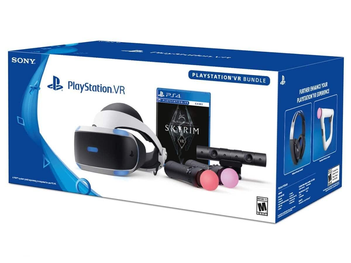 Open Box PS VR Skyrim Bundle $264 + S&H (with Monday only coupon) $288
