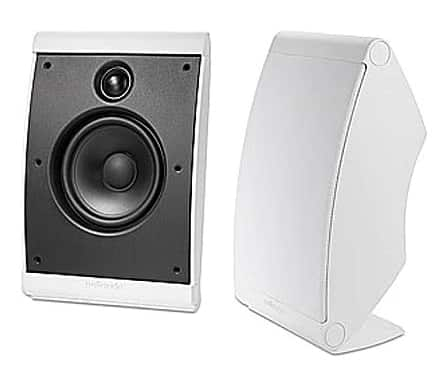 """Polk Audio OWM3 $99 - Speakers With 4.5"""" Woofers (White and Black) $99.92"""