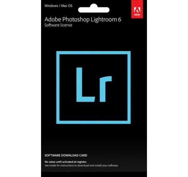 Adobe Photoshop Lightroom 6 (Product Key) $109