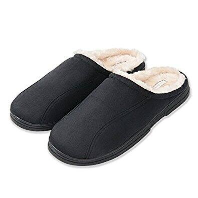 $13.99 for KushyShoo Men's Indoor Outdoor Cozy Clog Slippers