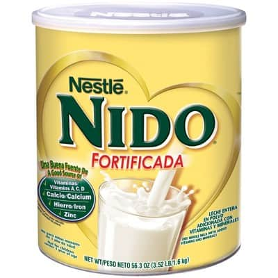56.3oz Nestle Nido Fortificada Whole Milk Powder $13.69