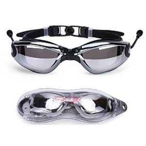 Baen Sendi Swim Goggles - Best Adult Swimming Goggles (Black) for $5.66 AC + FS @Amazon.com