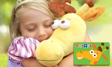 Groupon Targeted Offer - $10 for a $20 Toys R Us Gift Card