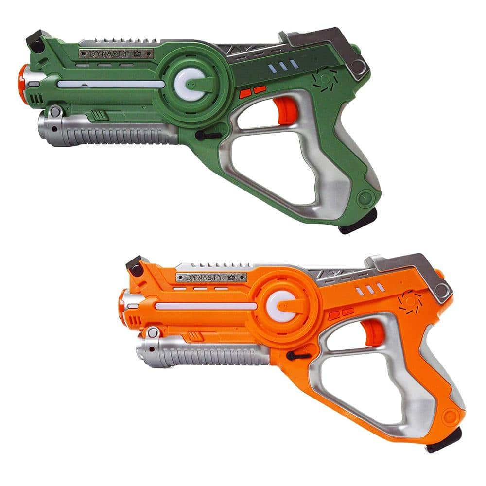 Dynasty Toys - Laser Tag 2 Pack Orange & Green - $5.99 with $1.99 Shipping