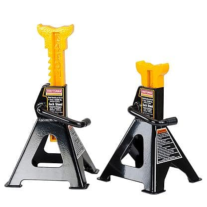 Sears - Craftsman 4-ton Jack Stands $24.65 pair / Kmart - Craftsman 2 1/4 ton Floor Jack and Jack Stands $44.99 -  Local P/U or Free S/H if over $25
