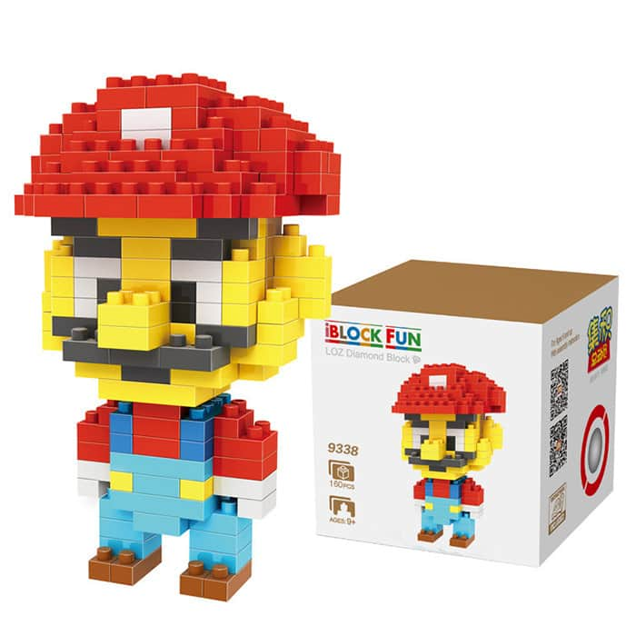 LOZ 160Pcs Super Mario Brothers Building Block Creative Kid Toy After Coupon Price $2.3 Only! + Free Shipping @SAMMYdress