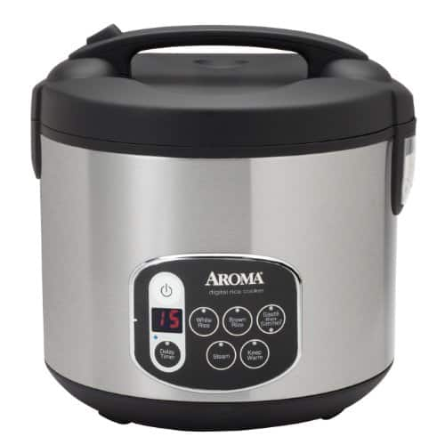 Aroma Housewares 20-Cup (Cooked) Digital Rice Cooker & Food Steamer $15.94 AC at Amazon