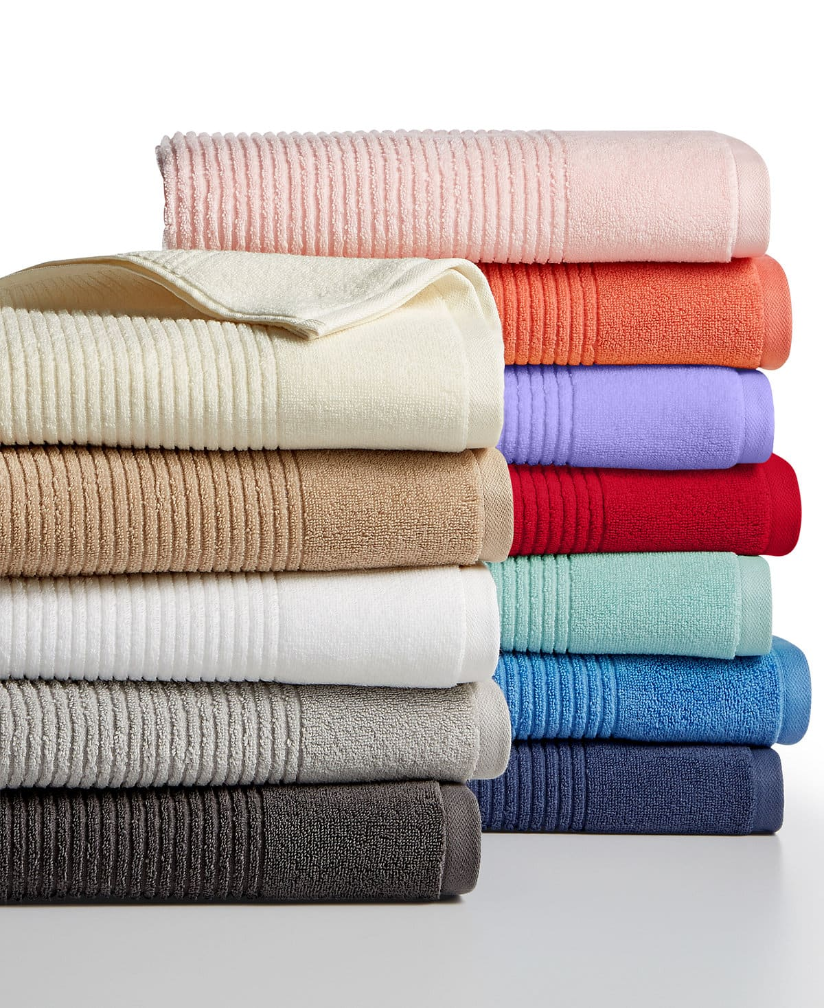 Martha Stewart Collection Quick Dry Reversible Towel Collection - $3.99/$5.99