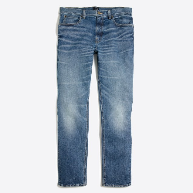 J.Crew Factory Men's Stretch Sutton Jean in Lucas Wash - $17.99 + Free S/H