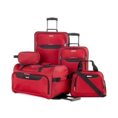 Tag Springfield III 5 Piece Luggage Set - $59.99 + Free S/H