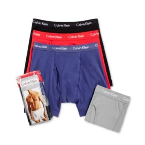 Calvin Klein 4-Pack Classic Boxer Briefs - $19.99 w/ Free Shipping