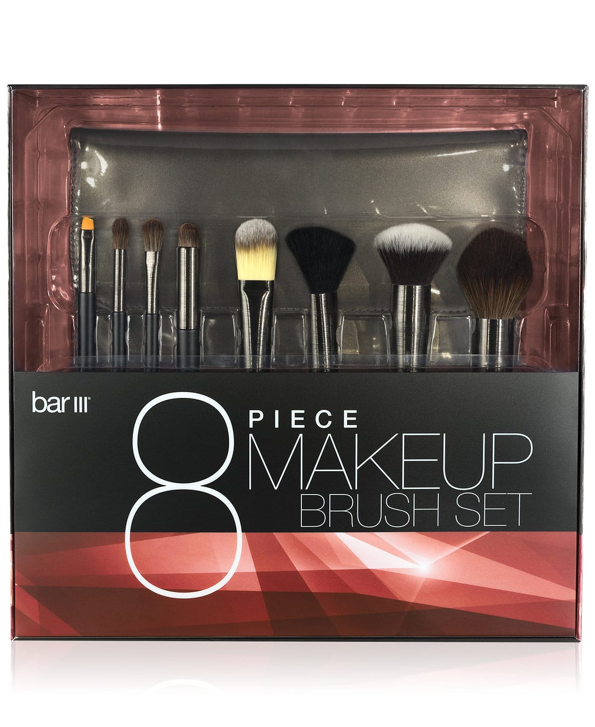 Bar III 8-Piece Makeup Brush Set - $29.50 w/ free shipping