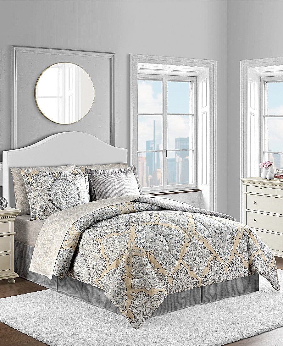 Macy's: 8 Piece Comforter Sets - $37.99 w/ Free Shipping