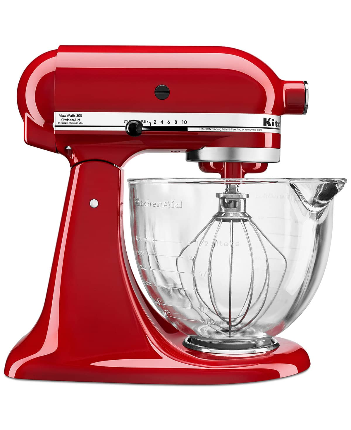 KitchenAid 5 Quart Stand Mixer with Glass Bowl & Flex Edge Beater - $209.99 w/ Free Shipping