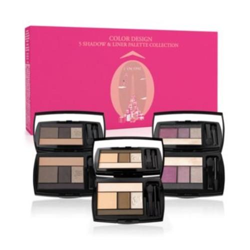 Lancôme 3-Pc. Color Design 5 Shadow & Liner Palette Set - $49 w/ Free Shipping