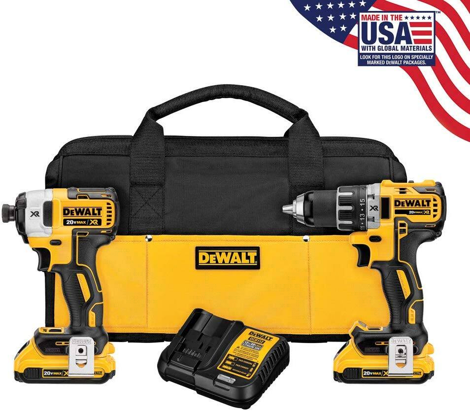 Dewalt DCK283D2 XR Brushless combo impact and drill