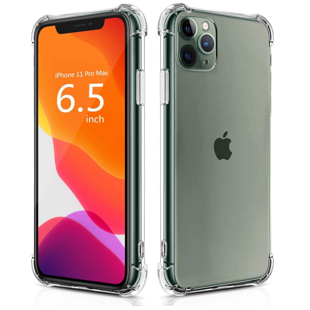 iPhone 11 Pro Max Case (Clear) $4.99