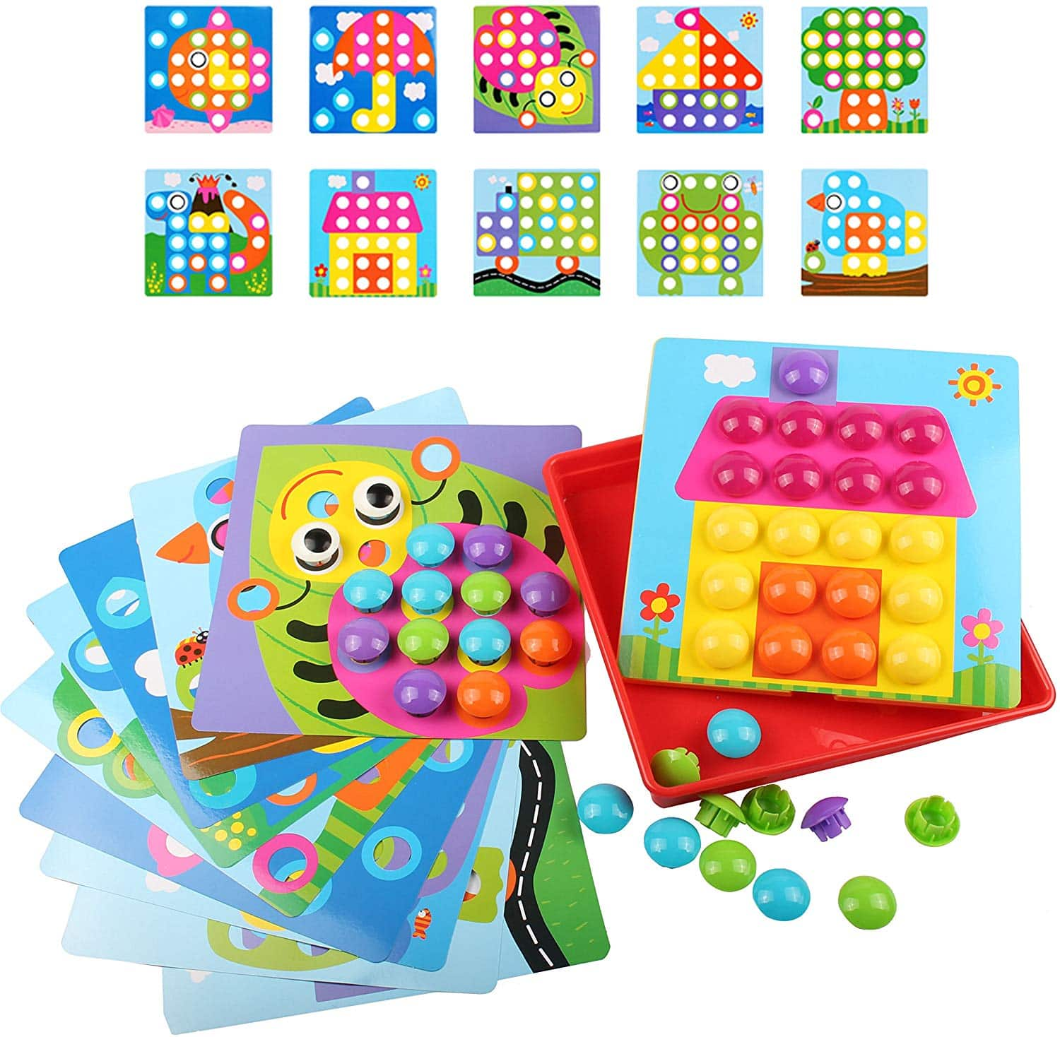 Color Matching Mosaic  Early Learning Toys for Toddlers $9.59