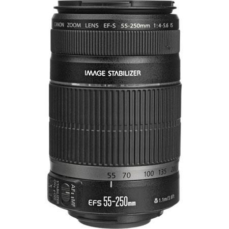 Canon EF-S 55-250mm f/4-5.6 IS II Lens @ Walmart YMMV as low as $25