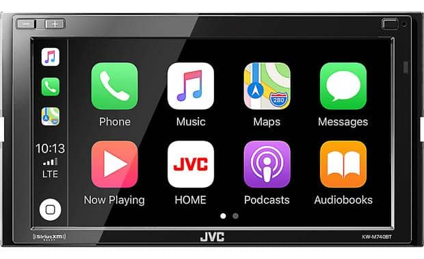 JVC KW-M740BT 6.8-Inch Apple CarPlay/Android Auto In-Dash Stereo + Free Google Home Mini - $259.95 (YMMV)