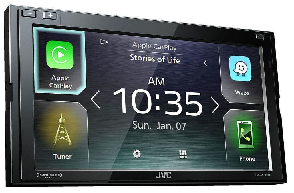 eBay: JVC, Sony, Kenwood In-Dash Touchscreen Stereo Receivers with Apple CarPlay & Android Auto from $211