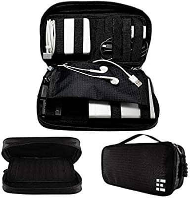Travel Cord Organizer Bag and Electronics Cable Case For $6 @ Amazon