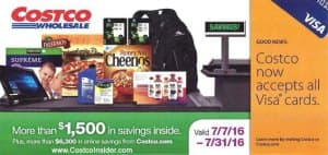Costco Coupons July 2016