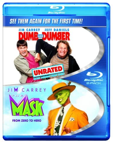 Dumb & Dumber: Unrated / The Mask DOUBLE FEATURE Blu-Ray $5.99 AMAZON