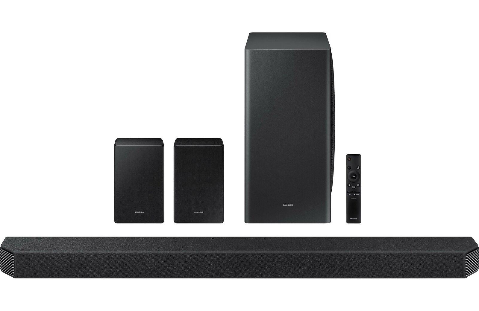 SAMSUNG HW-Q950A 11.1.4ch Soundbar Dolby Atmos/DTS:X, Alexa(2021), Black $1059 via echo-and-optics at ebay