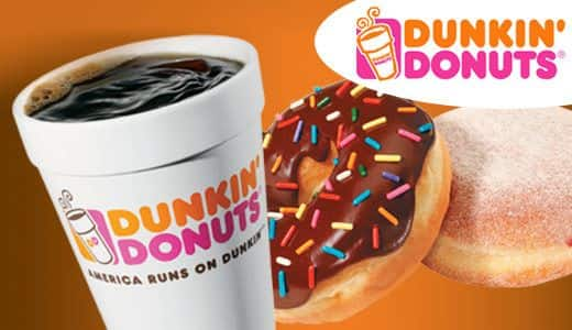 Get $5 Dunkin gift card when you use Samsungpay after 3 purchases