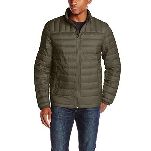 Tommy Hilfiger Men's Packable Down Jacket (36% discount) $44.85