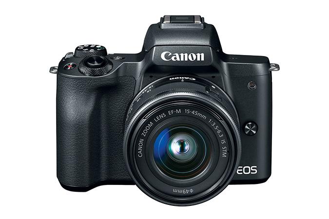 Refurbished EOS M50 EF-M 15-45mm f/3.5-6.3 IS STM Lens Kit $479.99
