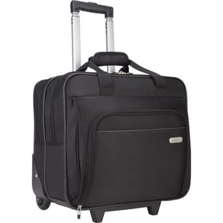 YMMV - Targus Rolling Laptop Case, Black - $13