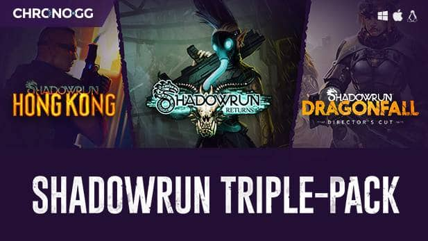 Shadowrun Triple Pack PCDD $10 (steam)