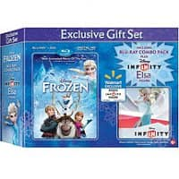 Walmart Deal: Frozen Blu-ray/DVD gift set with Disney Infinity Elsa or Anna figure - $21.96 @ Walmart 3/18