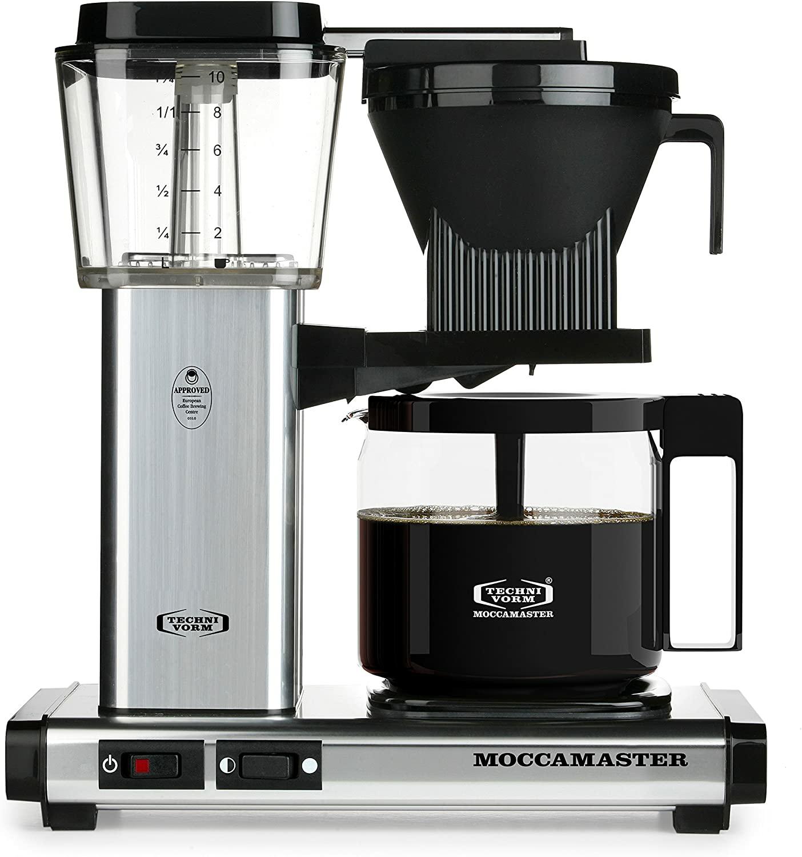 Technivorm Moccamaster coffee makers: KB: $239, KBG: $247, KBGT & CDGT: $255