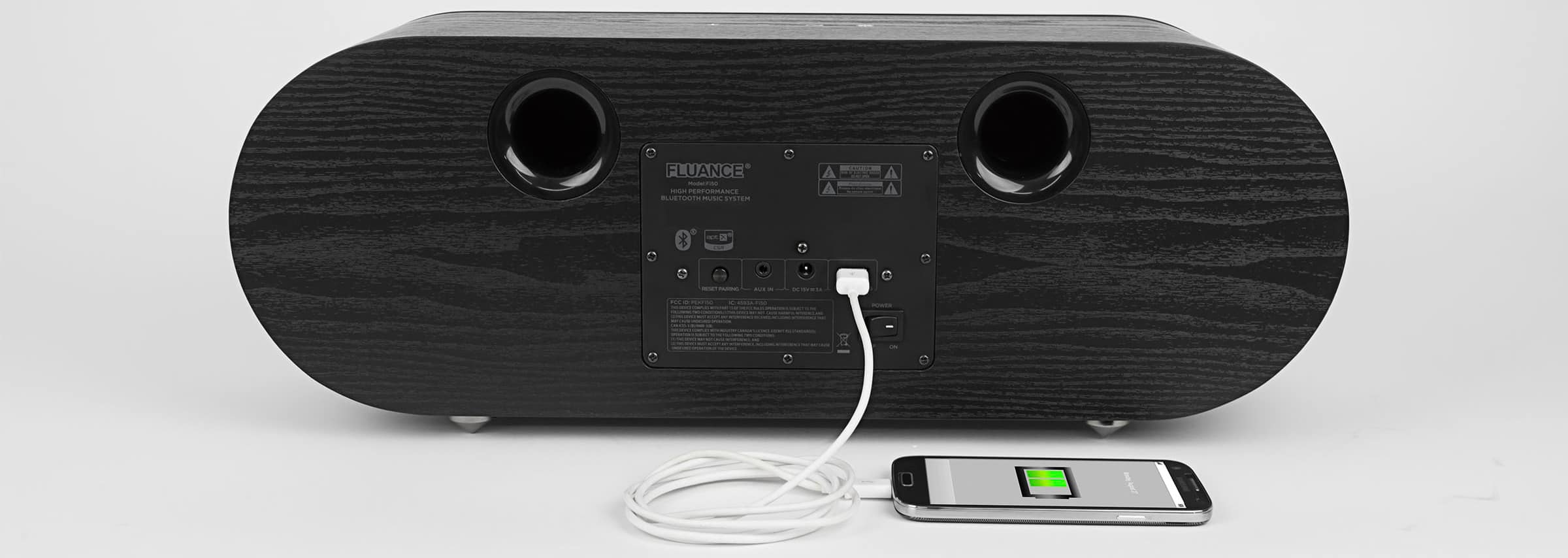 Fluance Fi50 Two-Way High Performance Wireless Bluetooth Wood Speaker System for $99.96 after coupon + Free shipping