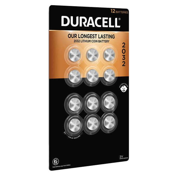 Costco: Duracell Lithium 2032 Coin Batteries, 12-count - $8.99 + Free Shipping