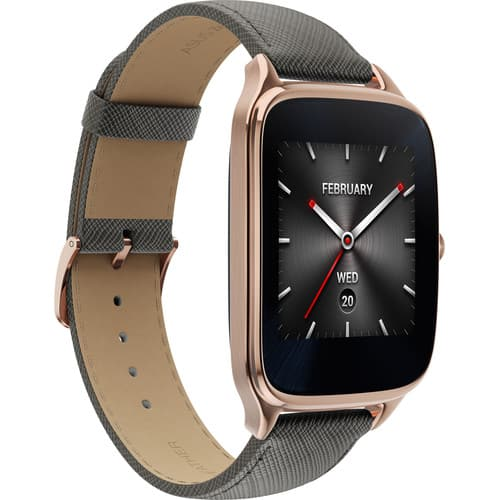 ASUS ZenWatch 2 Android Wear SmartWatch(Rose Gold Casing/Taupe Leather Band) $109.99 @B&H