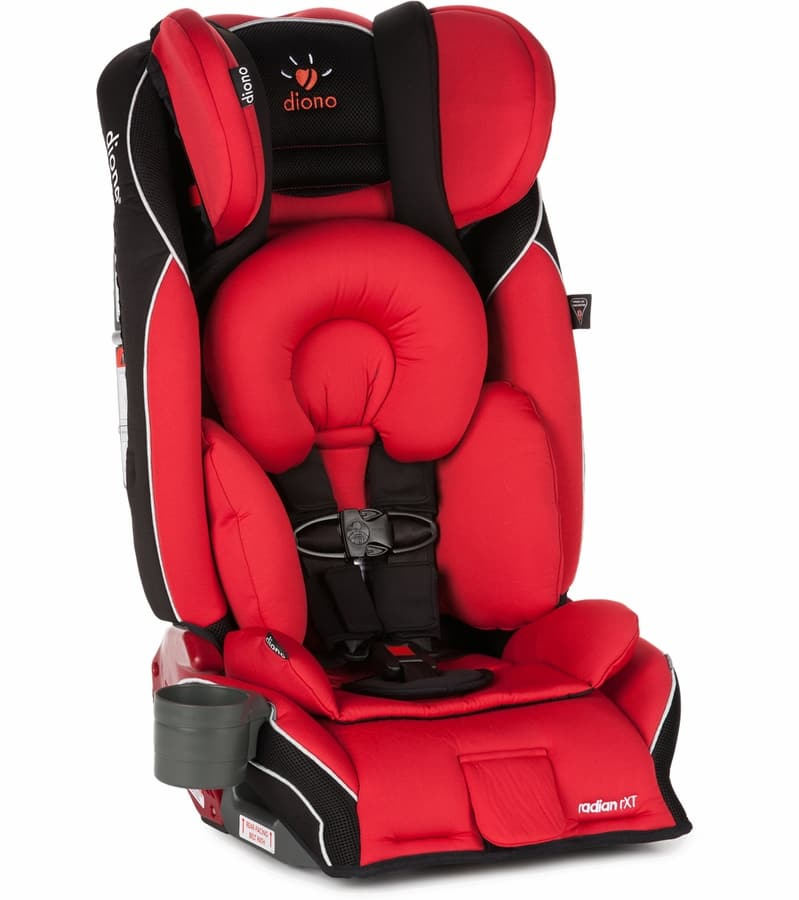 Diono Radian RXT All-In-One Convertible Car Seat (Red)  / FS $216
