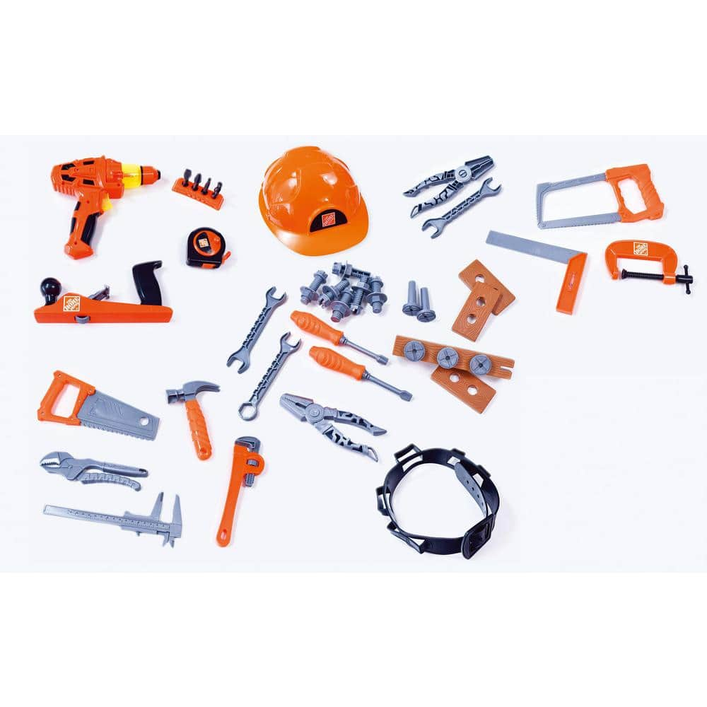 44-Piece-Deluxe-Tool-Set for kids - $5