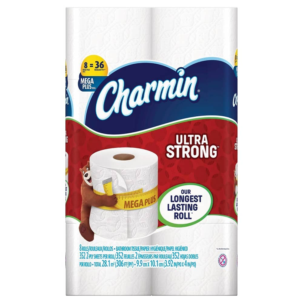 32-Ct Charmin Ultra Strong Mega Roll Toilet Paper + $10 Target card