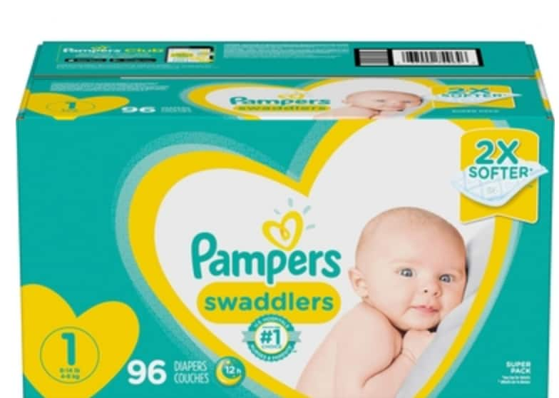 Select Pampers Diapers/Wipes 25% off at AAFES (Military Only)