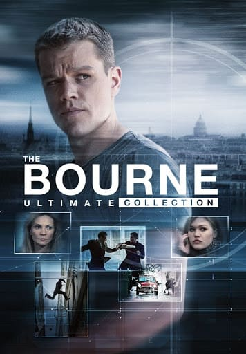 The Ultimate Bourne Collection (5 movie collection) Digital HD $17.99