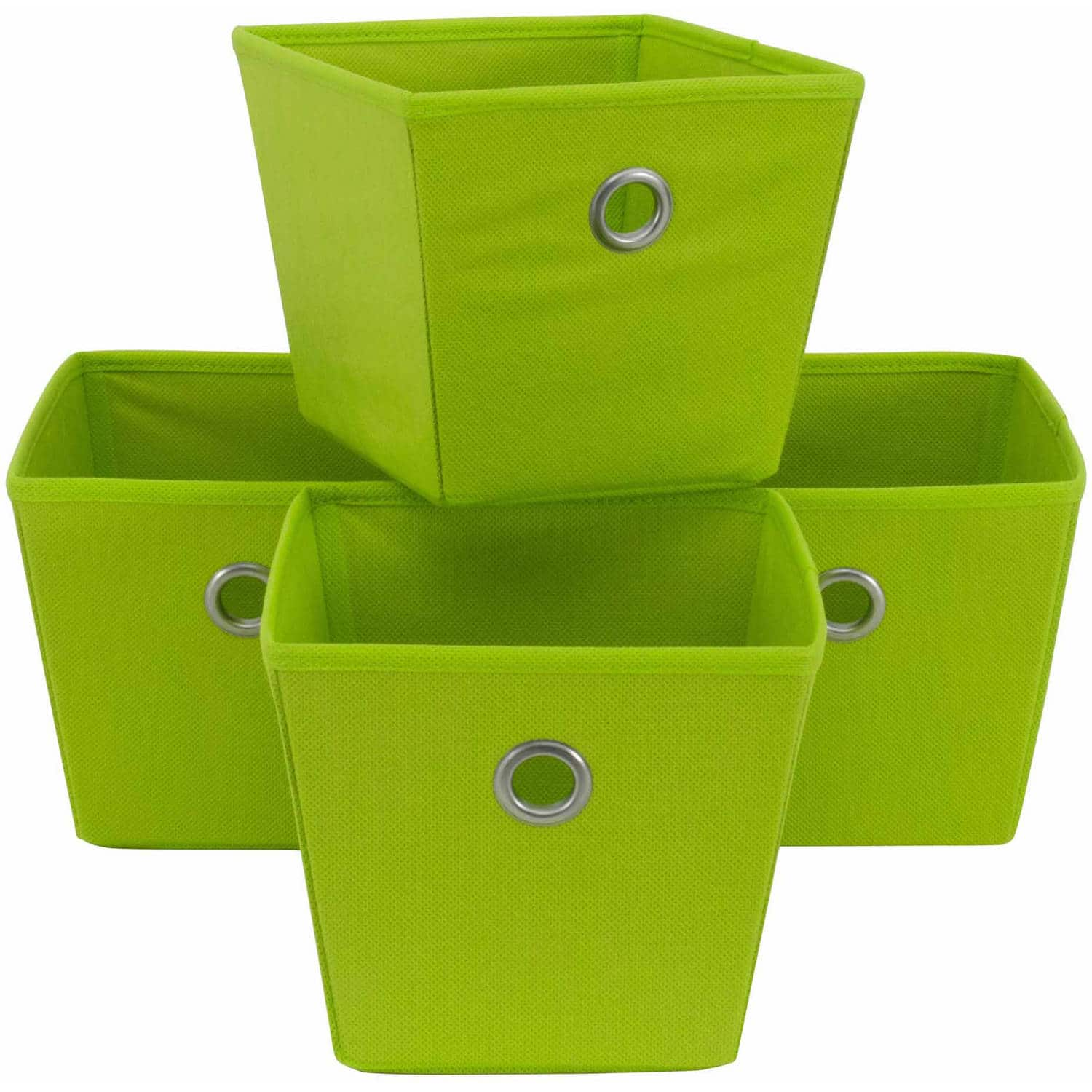 Mainstays Non-Woven Bins, 4-Pack $6.55 FS for pickup @Walmart $6.54