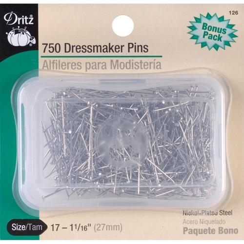 Dritz Dressmaker Pins, Size 17, 750-Pack $3.32 FS w/ Prime @Amazon