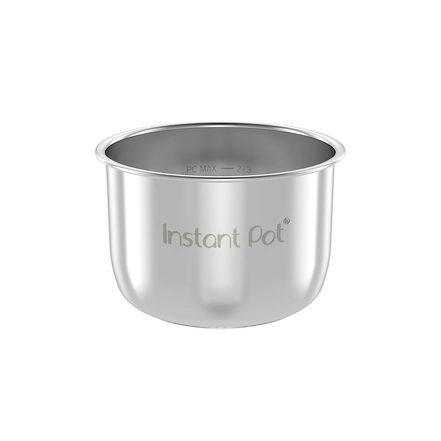 Genuine Instant Pot Stainless Steel Inner Cooking Pot - Mini 3 Quart $14.96 FS w/ Prime @Amazon